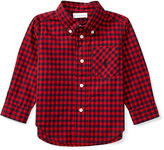 Ralph Lauren Gingham Cotton Pocket Shirt