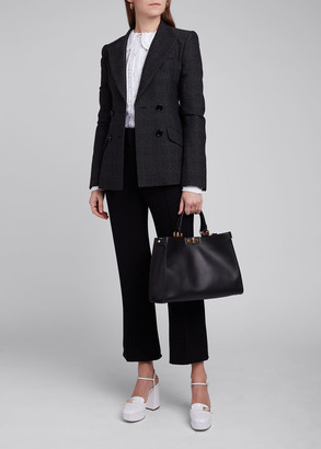 Fendi Tailoring Wool Double-Breasted Blazer