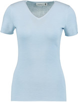 Pringle Merino wool, silk and cashmere-blend top