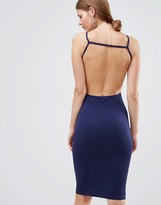Oh My Love Open Back Midi Dress