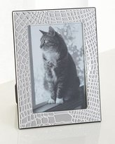 "Christofle Croco D'Argent Frame, 5"" x 7"""