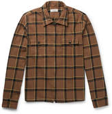J.Crew Checked Cotton-Flannel Jacket