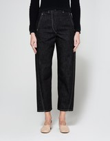 Lemaire Twisted Pants in Dark Indigo
