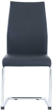 Wade Logan Hedon Upholstered Metal Side Chair (Set of 4 Upholstery Color: Black