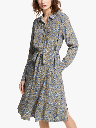 Farah And/Or AND/OR Abstract Print Shirt Dress, Ikat