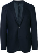 Corneliani single breasted blazer - men - Viscose/Virgin Wool - 48