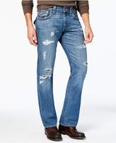 True Religion Men's Straight-Fit Ripped Jeans
