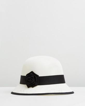 Cloche Rose Bucket Hat