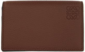 Loewe Brown Business Bifold Card Holder