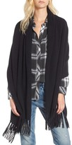 Nordstrom Women's Fringe Cashmere Wrap