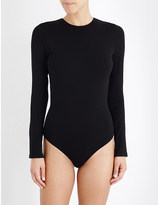I.D. Sarrieri Lace-back stretch-jersey body