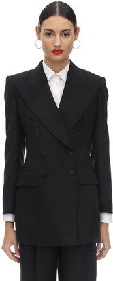 Dolce & Gabbana Wool Blend Gabardine Jacket