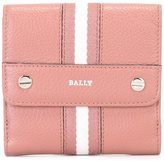 Bally striped coin purse