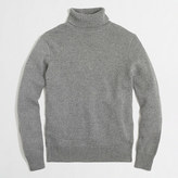 J.Crew Factory Cotton-merino blend turtleneck sweater