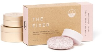 Unwrapped Life The Fixer Shampoo And Conditioner Bar Travel Set