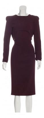 Tom Ford Burgundy Viscose Dresses