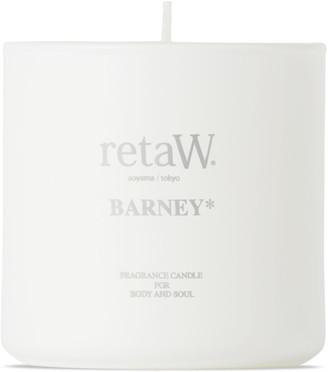 retaW Barney Fragrance Candle, 145 g