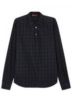 Barena Pavan Steno Plaid Cotton Shirt