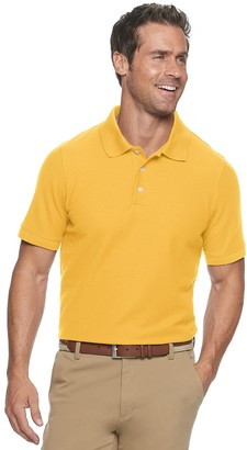 Croft & Barrow Men's Easy-Care Pique Polo in Regular and Slim Fit