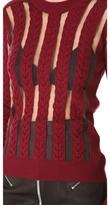 McQ by Alexander McQueen alexander mcqueen Sheer Panel Sweater