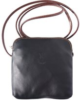 Florence Leather Market Mini soft leather unisex cross body bag8609