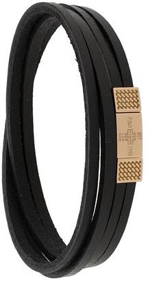 Tateossian Fetuccinne Duo bracelet
