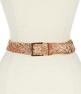 Bed Stu Proem Braided Leather Belt
