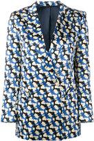 Blazé Milano - patterned blazer - women - Silk/Cupro/Viscose - I