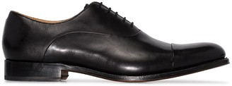 Grenson Bert leather derby shoes