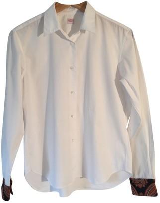 E. Tautz E.Tautz E.tautz White Cotton Tops