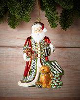 Mackenzie Childs MacKenzie-Childs Santa's Best Friend Christmas Ornament