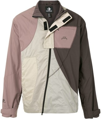 Converse Zipped Contrast Panel Track Jacket