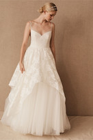 Thumbnail for your product : Hayley Paige Halen Gown