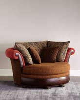 Horchow Massoud Rainey Cuddle Chair