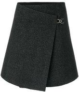 Maison Margiela tailored mini wrap skirt
