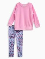 Splendid Little Girl Whipstitch Pullover and Legging Set
