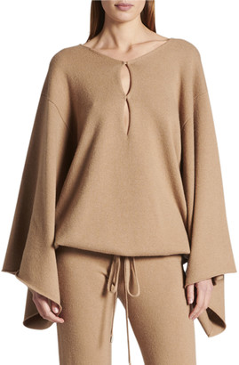 Tom Ford Cashmere Kimono-Sleeve Sweater