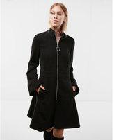 Express bell sleeve skirted coat