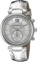 Michael Kors Women's MK2443 Sawyer Silver-Tone Watch