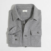 J.Crew Factory Boys' heathered cotton elbow-patch shirt