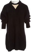 Sonia Rykiel Black Wool Dresses