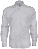 Jeff Banks Dawson Dobby Dot White Label Extra Slim Fit