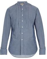 Burberry Benfleet double-cuff cotton-chambray shirt