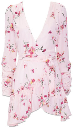 Forever 21 Chiffon Floral Mini Dress