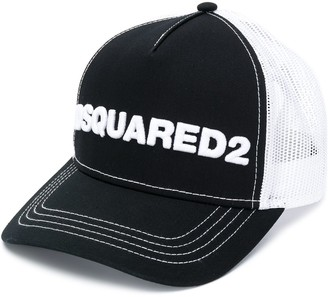 DSQUARED2 Embroidered Mesh Panel Baseball Cap