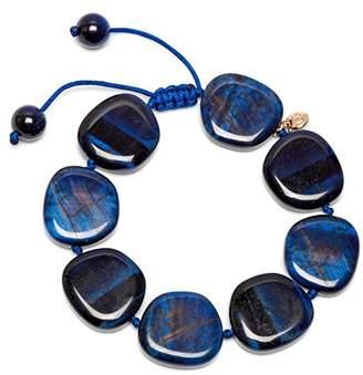 Lola Rose Reagan Navy Blue Tigers Eye Bracelet