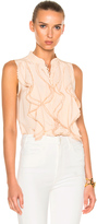 Chloé Crepe De Chine Sleeveless Blouse