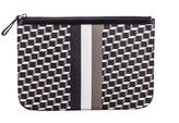 Pierre Hardy Cube Stripe Clutch