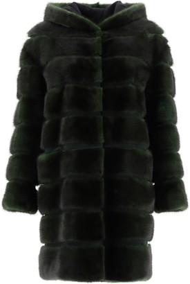 Simonetta Ravizza Quilted Fur Coat