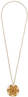 Swarovski Evil Eye Disc Pendant necklace